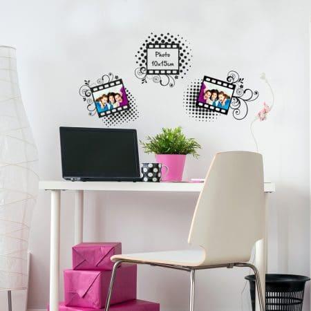 """Stickers Muraux de Kit de """"Cadre Photo"""""""