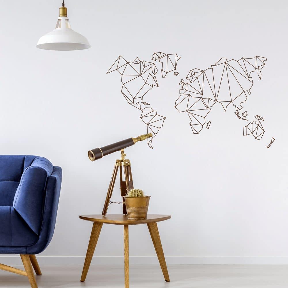 Map Monde en Géométrie