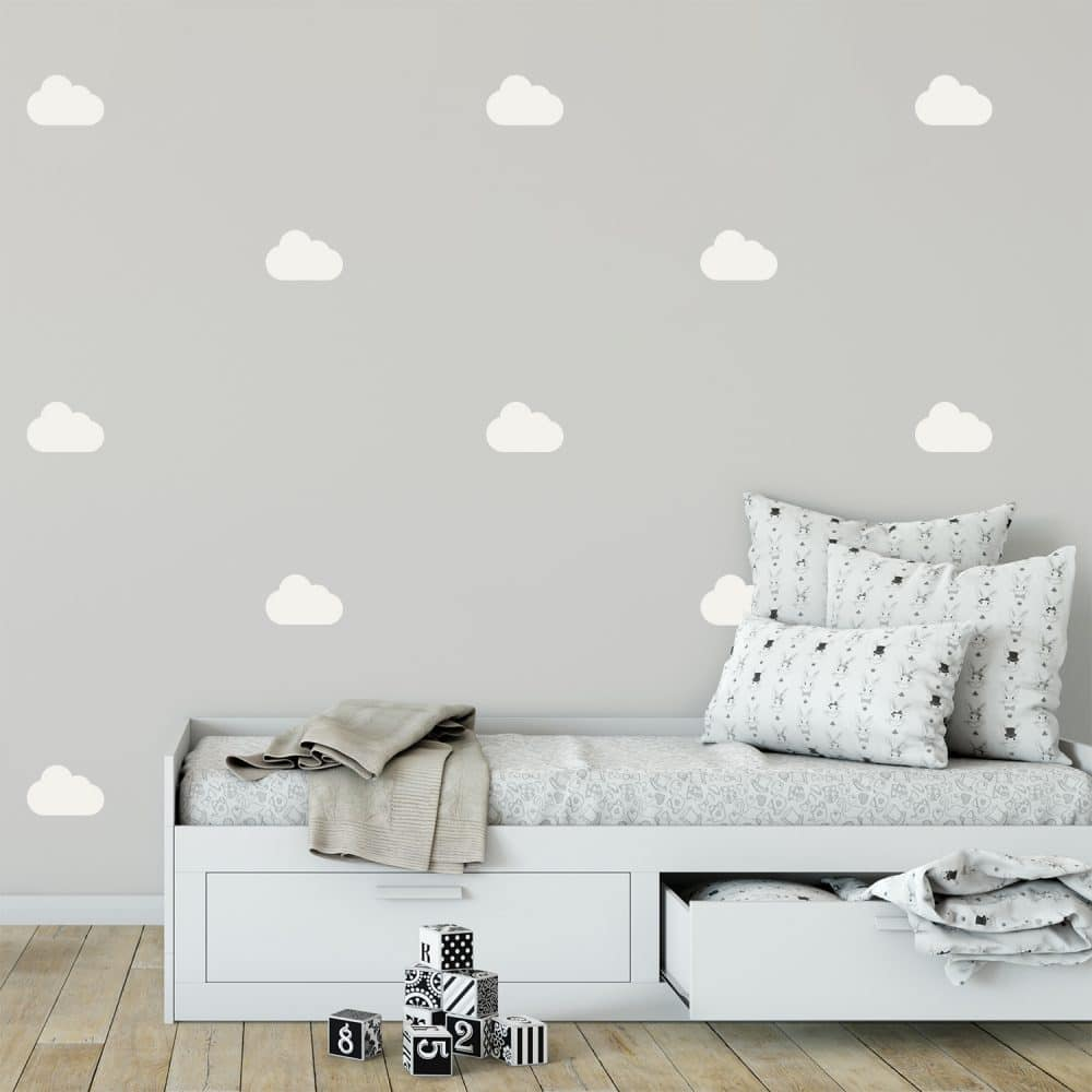 Kit Stickers Muraux Nuages